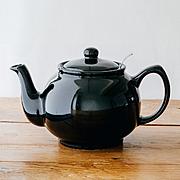 ティーポット 6カップ/ブラック