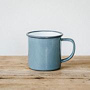 FALCON 琺瑯マグカップ〈グレー〉