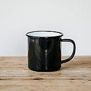 FALCON 琺瑯マグカップ〈ブラック〉