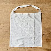 TIPTOE 花束ポケット付きバッグ〈白〉