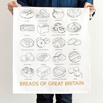tea towel / BREADS