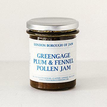 London Borough of Jam グリーンゲージプラムとフェンネルポーレンのジャム