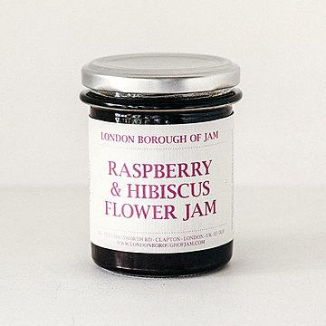 London Borough of Jam ラズベリーとハイビスカスのジャム